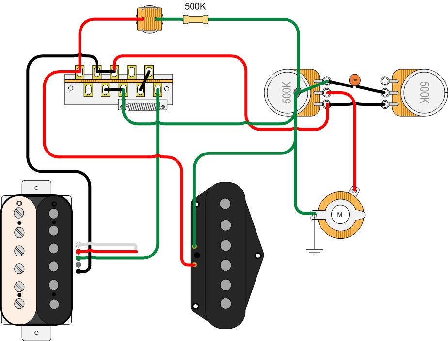 Telecaster Mini Humbucker Neck Wiring Diagram