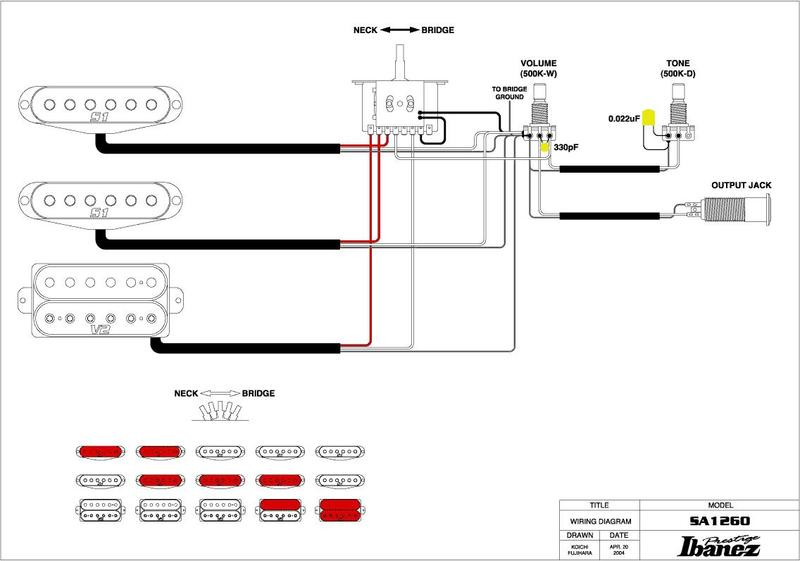 Five Way Switch Wiring Diagram