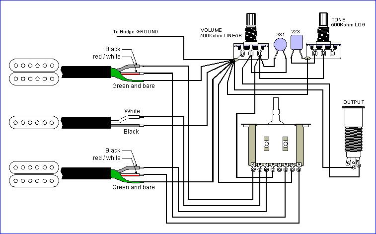 [43+] Seymour Duncan Wiring Diagram Les Paul