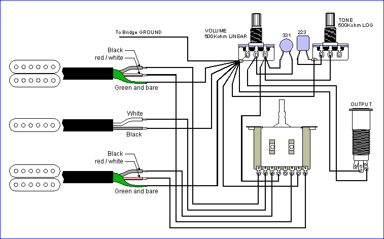 Seymour Duncan Wiring Diagram Ibanez