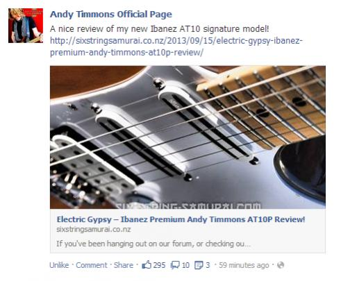 Any Andy Timmons Fans In The House Ibanez At10p Seymour Duncan User Group Forums