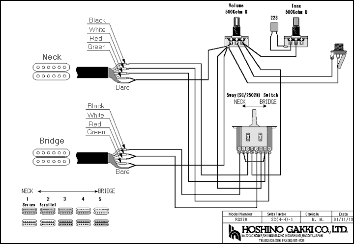 Cor-tek 5 Way Switch Wiring Diagram Strat