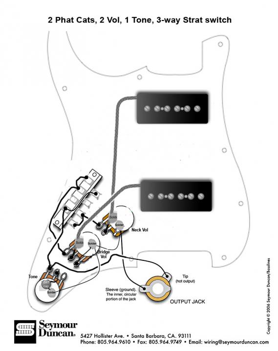 phat cats 2 vol 1 tone 3way blade switch diagram