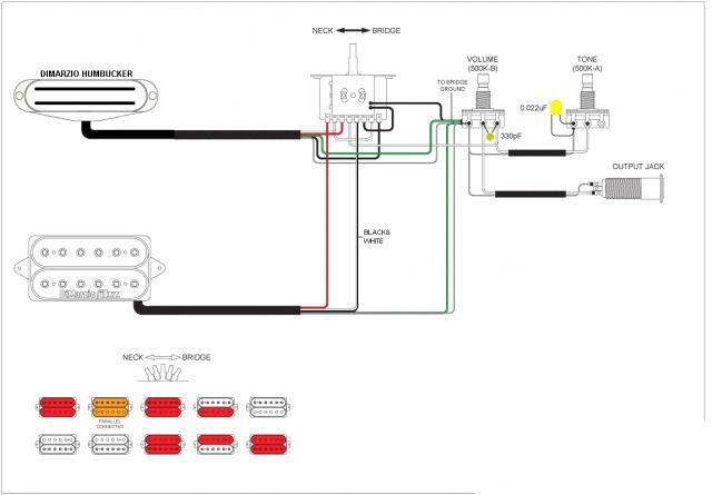 2 Humbucker 5-way super switch wiring - Seymour Duncan User Group ForumsSeymour Duncan Forum