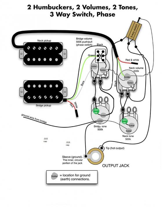 Wiring Diagram For Vintage 50 S With Phase Seymour Duncan User Group Forums