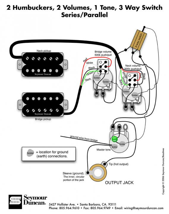 Need help with wiring for pickups.