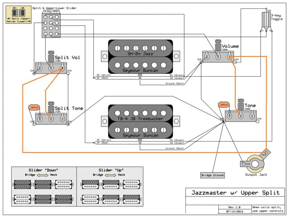 please help with custom wiring diagram  seymour duncan user