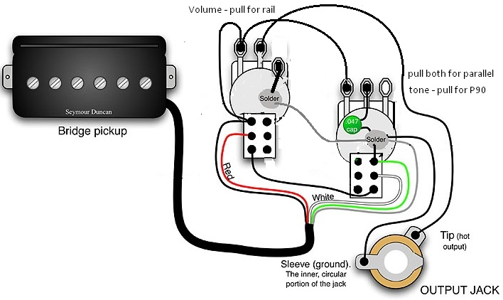Hot Rail Pickup Wiring Diagram