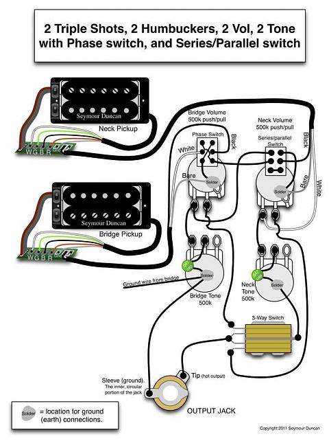 seymour duncan p rails wiring diagram 1992 chevy s10 engine