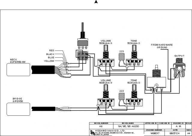 Ibanez Bass Guitar Wiring Diagram