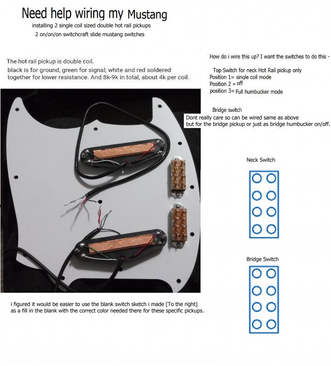 need help with wiring my mustang  seymour duncan user group