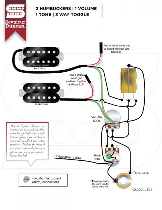jb/59 wiring diagram from one volume one toggle switch