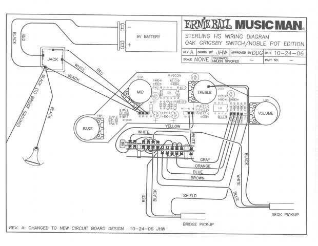 Musicman Sterling HS -parallel wiring on active stratocaster with humbucker wiring, v8 ibanez pickup wiring diagram, jackson pickup wiring diagram, active strat wiring diagram, fender pickup wiring diagram, bass guitar pick up diagram, emg 81 installation diagram, soap bar pickup wiring diagram, active pickup voltage, humbucker pickup wiring diagram, active crossover wiring diagram, active guitar pick up circuit diagram, duncan pickup wiring diagram, p bass pickup wiring diagram, stratocaster hss pickup wiring diagram,