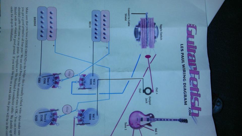 Seymour Duncan Le Paul Wiring Diagram