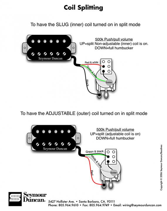 is this coil split diagram correct ?? - seymour duncan user group forums  seymour duncan forum