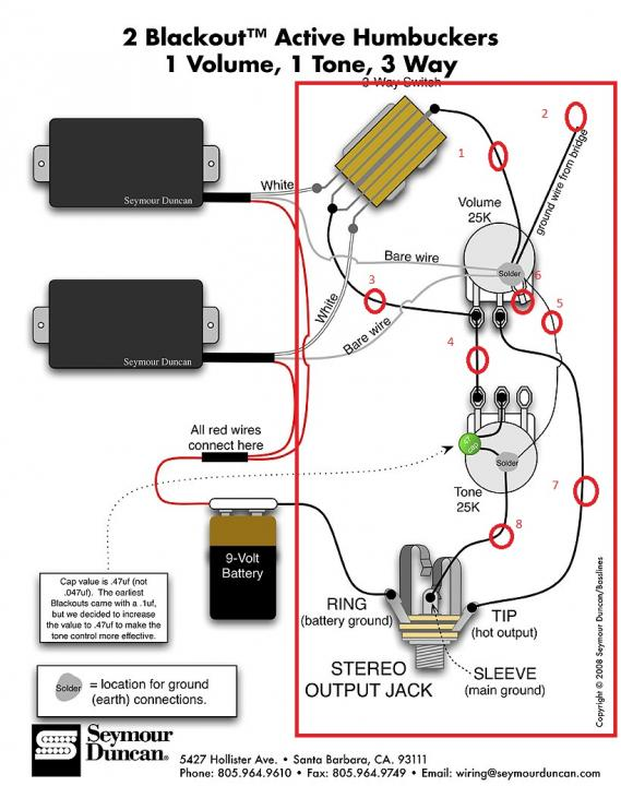 Help With Blackout Wiring Diagram