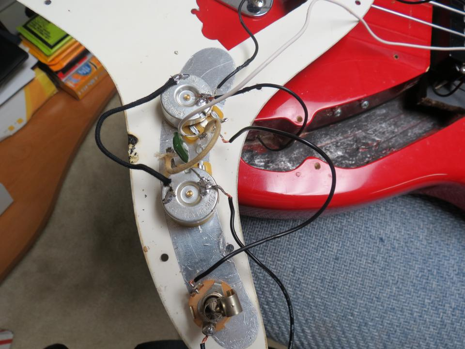 Squier Bass Wiring Issues