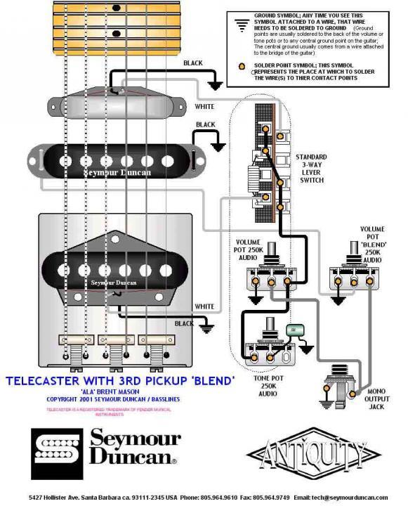 Jazz Bass Wiring Diagram Blend