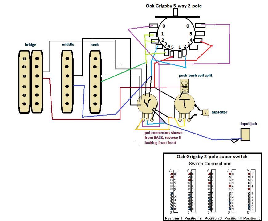 Oak Grigsby 6 Way Switch Wiring Diagram