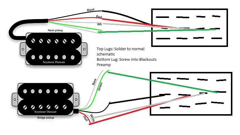 Seymour Duncan Blackout Preamp Wiring Diagram