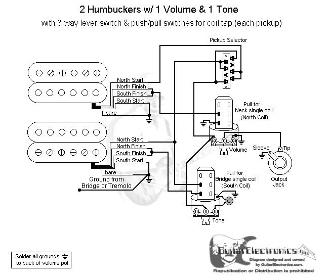 Les Paul Wiring Diagram Coil Tap