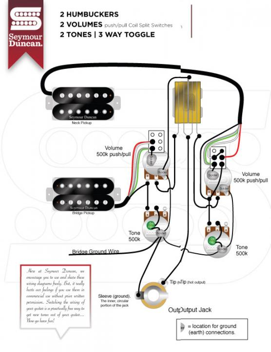 Les Paul Wiring Troubleshooting 1950s Vintage Diagram Gfs