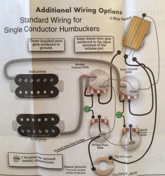 Should I Modify My Original Epiphone Les Paul Wiring To