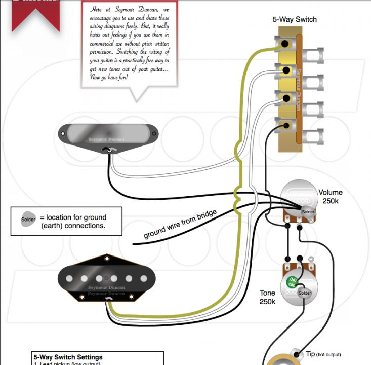 [SCHEMATICS_48EU]  Telecaster wiring - Seymour Duncan User Group Forums | Wiring Diagram Seymour Duncan Quarter Pounder |  | Seymour Duncan Forum