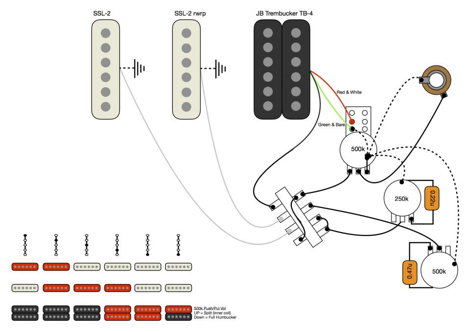 DIAGRAM] Push Pull Switch Guitar Pickups Hss Split Coil Wiring Diagram 1  Vol 1 Tone FULL Version HD Quality 1 Tone - INSTADIAGRAM.PIZZAVERACE.IT | Guitar Wiring Diagrams Hss |  | Diagram Database