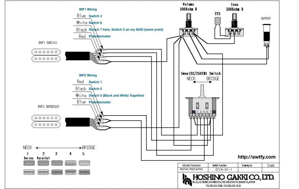 Ibanez Rg170 Wiring Diagram
