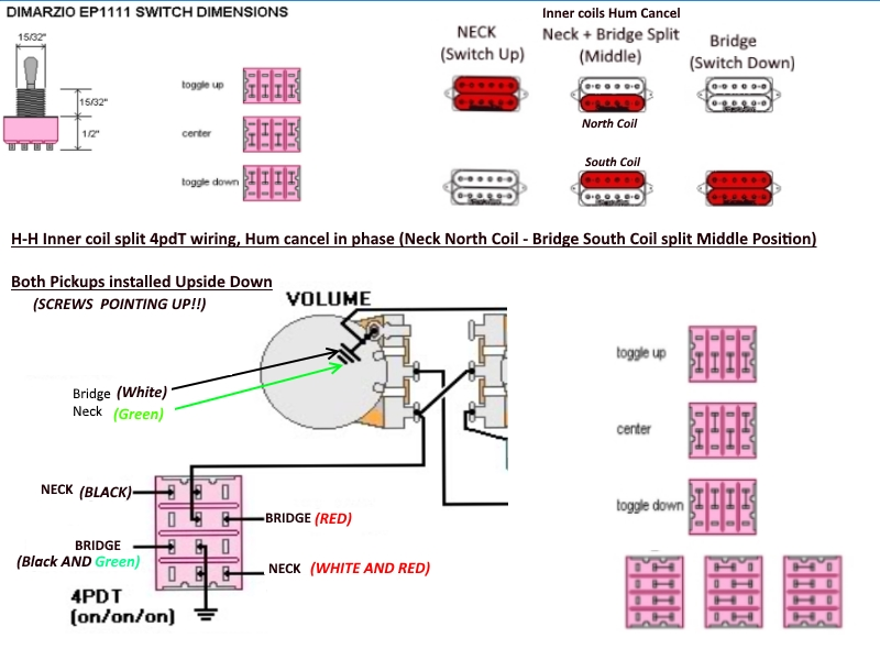 4pdt Switch Diagram Wiring Diagrams