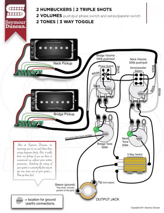 prails in les paul wiring  seymour duncan user group forums