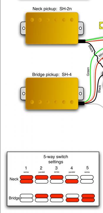 Schecter Pickup Wiring Diagram