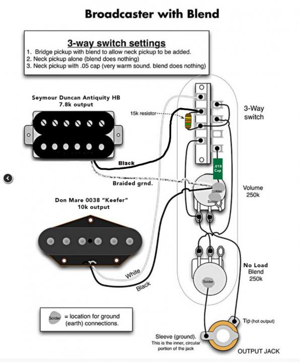 Fat Telecaster Wiring Diagram