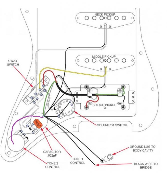 Pearly Gates Strat Wiring Question, Fender Mexican Strat Hss Wiring Diagram